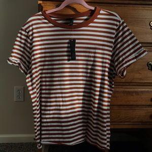 Striped Women's T Shirt